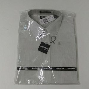 Borders Gallery men's size large 16 - 16 1/2